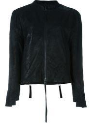 asymmetric cuff zipped jacket Barbara I Gongini