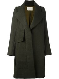 oversized lapel coat Quetsche