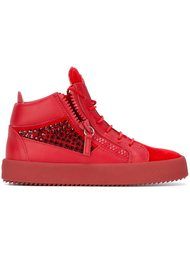'Kendall' mid-top sneakers Giuseppe Zanotti Design