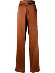 широкие брюки с поясом Ann Demeulemeester