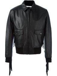 куртка-бомбер с бахромой Givenchy