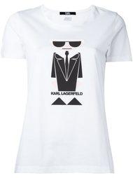 толстовка с вышивкой Karl Karl Lagerfeld