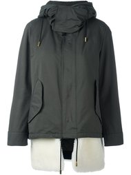 hooded zip coat The Reracs