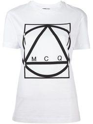 футболка с принтом Multi Geo McQ Alexander McQueen