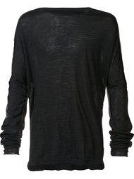contrast back longsleeved T-shirt Taichi Murakami