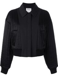 quilted reversible bomber jacket DKNY