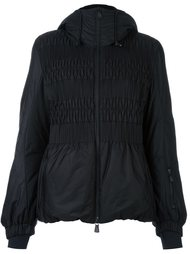 shirred front panel jacket Moncler Grenoble