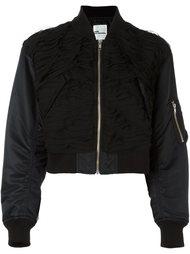 cropped bomber jacket Comme Des Garçons Noir Kei Ninomiya