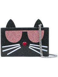 сумка через плечо 'Choupette' Karl Lagerfeld