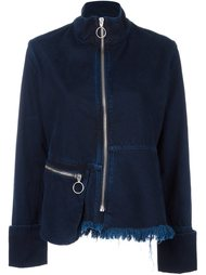 fitted denim jacket Marques'almeida