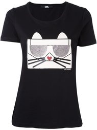 футболка Choupette Karl Lagerfeld