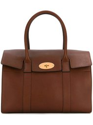 gold-tone hardware medium tote Mulberry