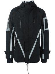 куртка с контрастной окантовкой  11 By Boris Bidjan Saberi
