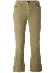 flared corduroy trousers  Current/Elliott