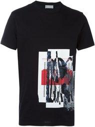 футболка с абстрактным принтом Dior Homme