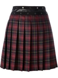 pleated plaid skirt  Giamba