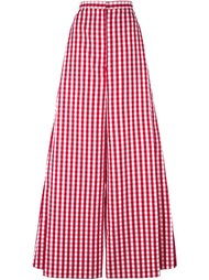 gingham wide leg trousers Marques'almeida