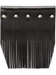 fringed stud detail wallet Comme Des Garçons Wallet