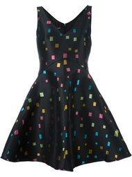 jacquard flared dress Emporio Armani