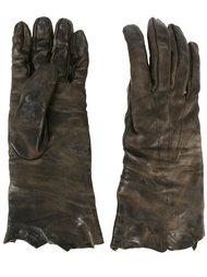 перчатки с потертым эффектом  Isaac Sellam Experience