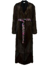 contrast waist coat Attico