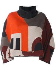 geometric pattern sweater Quetsche