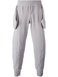 спортивные брюки с вывернутыми карманами  A-Cold-Wall*