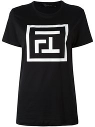 logo print T-shirt Federica Tosi