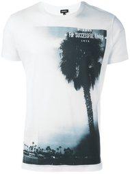 футболка с принтом пальмы Diesel
