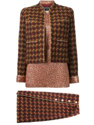 three piece skirt suit  Chanel Vintage