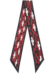 printed scarf Bulgari