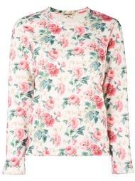 floral print sweatshirt Comme Des Garçons