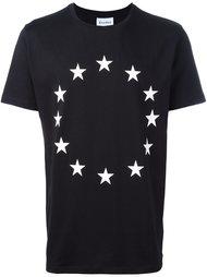 circular star print T-shirt Études