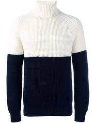 colour block jumper Lc23