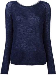 back buttoned fine knit jumper Sun 68