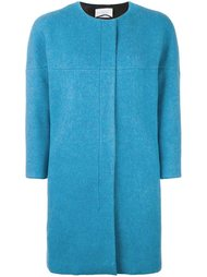 zipped boxy coat Akris Punto