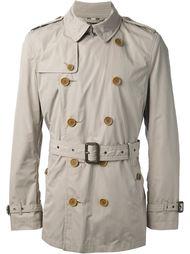 двубортное пальто-тренч Burberry Brit