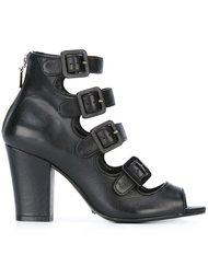 buckled strappy sandals Schutz