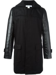 panelled sleeve coat Comme Des Garçons Shirt