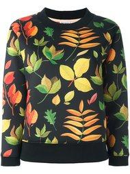 'plants' print sweatshirt Arthur Arbesser