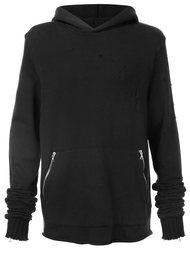 zipped pockets hoodie Amiri