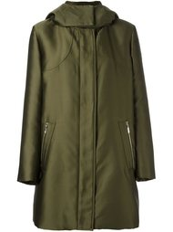 high neck hooded coat Moncler Gamme Rouge
