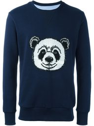 panda embroidered sweatshirt Lc23