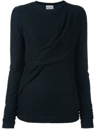 draped detailing pullover Arthur Arbesser