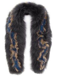 fur scarf Rachel Comey