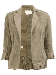 cropped blazer jacket Greg Lauren