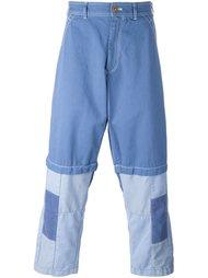 patchwork detail jeans Comme Des Garçons Shirt