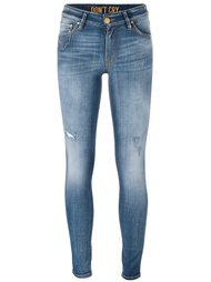 stonewash skinny jeans Don't Cry