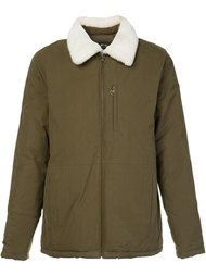 fur collar jacket  A.P.C.