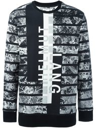 all-over print sweatshirt Helmut Lang